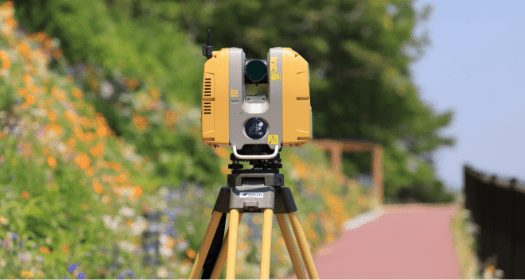写真:3Dレーザ計測
