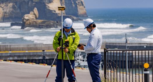 写真:GNSS測量