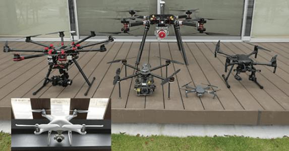 写真:UAV(無人航空機/ドローン)