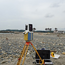 最新の地形測量の画像